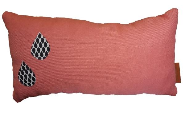 Kussen drops roze wonen met kinderen webshop studiompeet