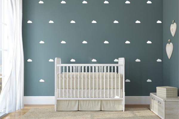 Mooie uniseks babykamer voor een ling inspiratie voor de